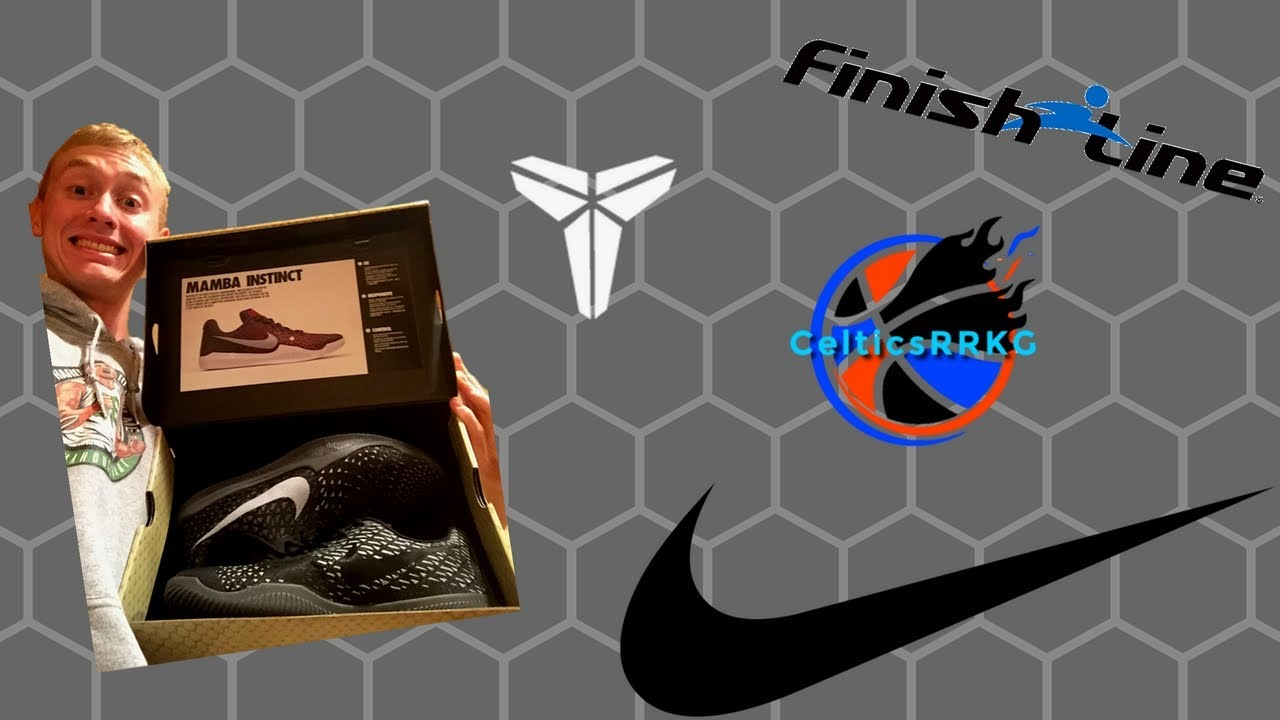 timeless design 2468b 85007 Nike Kobe s Mamba Instinct Basketball Shoes - Unboxing And Review - Sick  Looking Shoes!