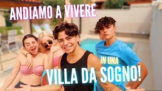 Io e i miei AMICI andiamo a vivere in una VILLA DA SOGNO con piscina!   Luciano Spinelli