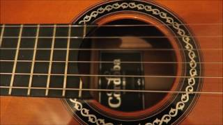 capo on second fret f#