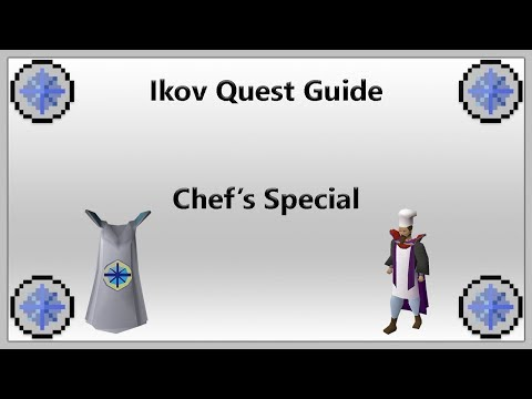 [IKOV RSPS] Chef's Special Quest Guide