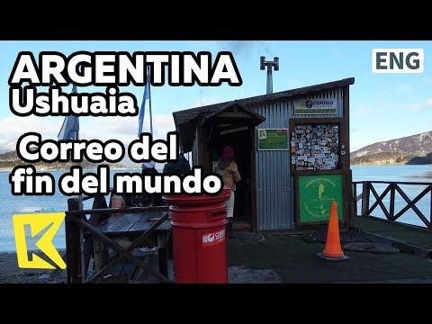 【K】Argentina Travel-Ushuaia[아르헨티나 여행-우수아이아]세상 끝 우체국/Correo del fin del mundo/Post office/Stamp