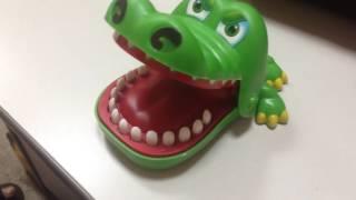 Игрушка Crocodile DENTIST. Детская русская рулетка))