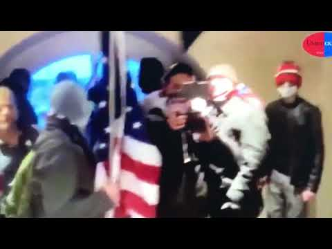 Shocking video of pro-Trump mob inside Capitol—discuss floor plans & how to take the building, 1