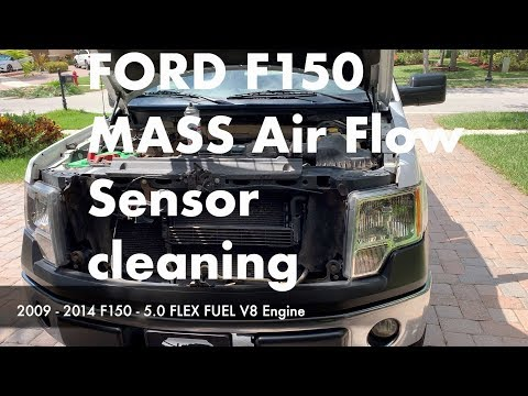 Ford F150 MASS Air Flow sensor Cleaning