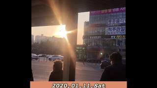 Vlog Happy New Year 2020 in Itawon Hannam dong 새해기념 한남동 이태원 나들이