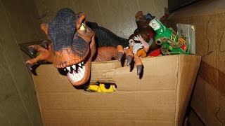 [BAD VIDEO] What's in the box: Dusty old junk! And some cool toys too.