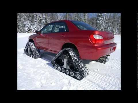 American Track Truck — Subaru Impreza WRX — stock 2.0 liter engine — DOMINATOR™ Tracks — WOW!