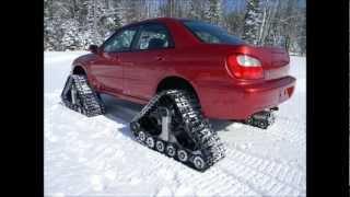 Repeat youtube video American Track Truck -- Subaru Impreza WRX -- stock 2.0 liter engine -- DOMINATOR™ Tracks -- WOW!