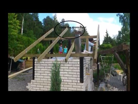 Building a wood-fired pizza Oven barbecue and smokehouse  pecnica santa maria bbq grill rostilj