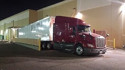 Night Delivery in Jacksonville, Florida : Adventures in Trucking Series