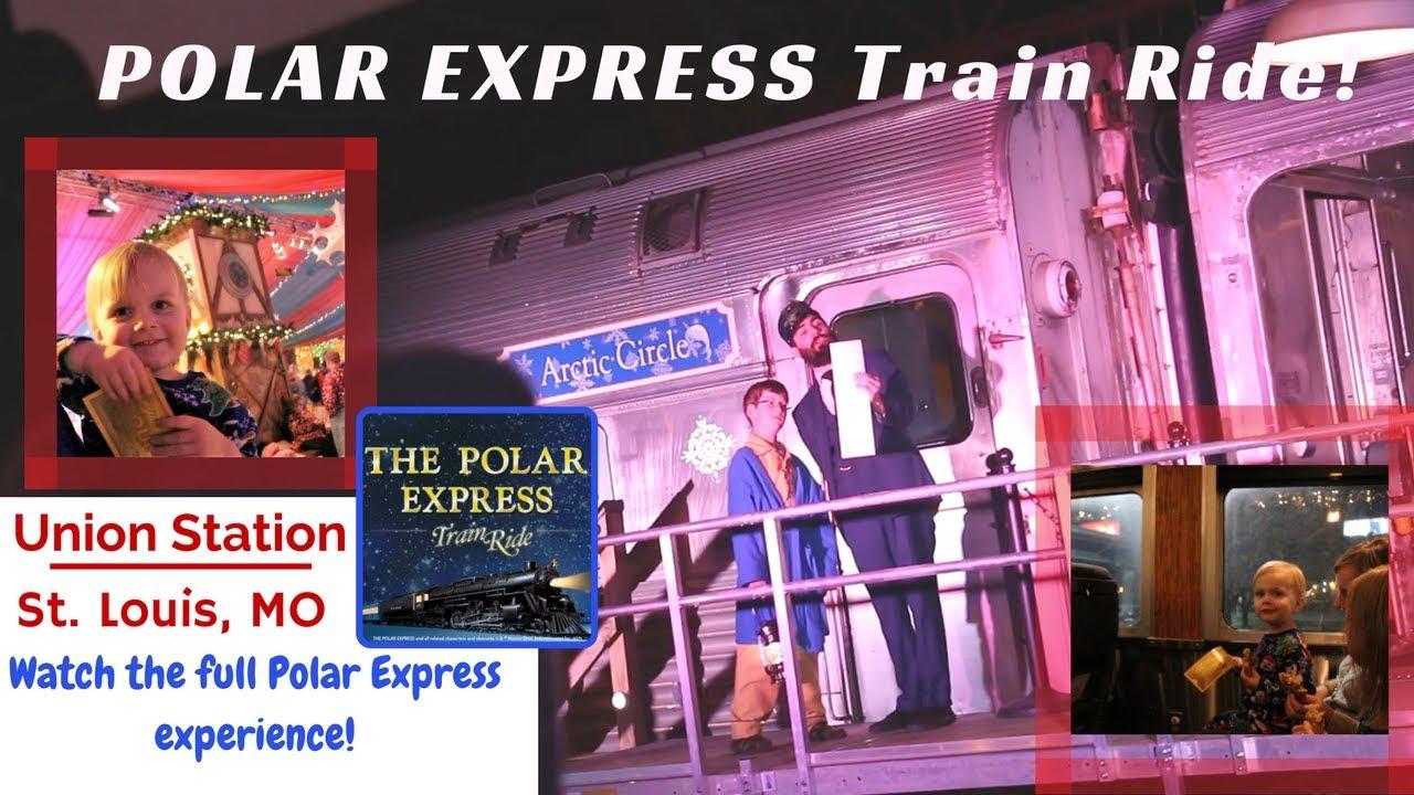 POLAR EXPRESS Train Ride! Union Station