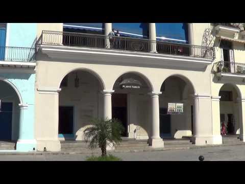 Plaza Vieja de la Habana. Old Square in Havana. Cuba