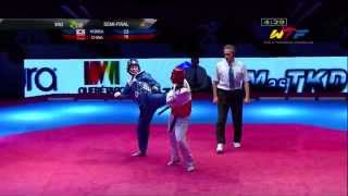 [S-Final Female] KOREA vs CHINA | 2014 WTF WORLD CUP TAEKWONDO TEAM CHAMPIONSHIPS