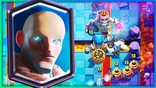 A totally normal deck in Clash Royale