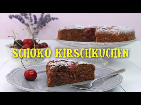 schoko kirschkuchen backen schokokuchen mit kirschen selber machen einfaches rezept youtube. Black Bedroom Furniture Sets. Home Design Ideas