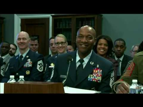 Service Senior Enlisted Advisors Brief House Appropriations Committee