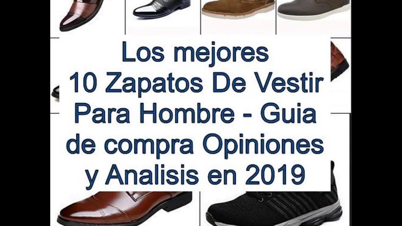 8106beb2 Los mejores 10 Zapatos De Vestir Para Hombre - Guía de compra, Opiniones y  Anális