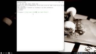 36. Словари (dict) в Python 3 - dictionaries (Уроки Python) RU