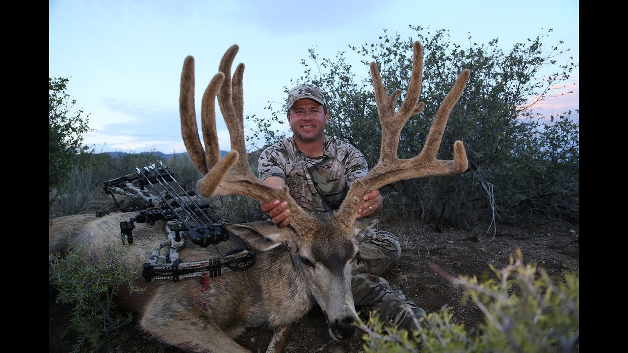 """Epic Mule Deer Hunt, 218"""" Nevada Mule Deer(Part 2)"""