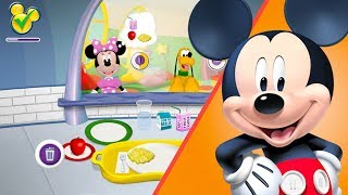 MICKEY MOUSE Play Kids Kitchen Games Disney Junior Food Animals Yummy Chef |SuperKidsGames food