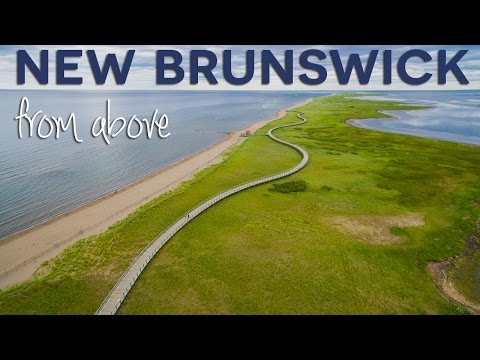 New Brunswick From Above