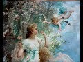 Hans Zatzka's Academic Art and Flowery Fantasies