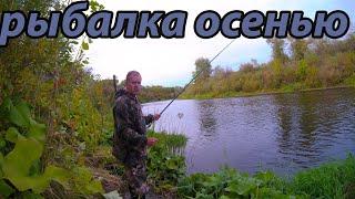 Рыбалка на поплавок 19 сентября 2021 на реке