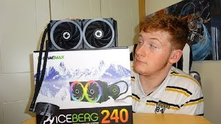 GameMax IceBerg 240 AIO CPU Cooler Unboxing and Overview