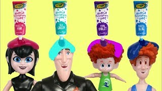 Hotel Transylvania 3 Bath Paint Fun Time with Mavis, Drac, Dennis & Bubbles