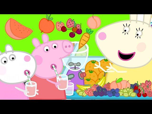 Peppa Pig Français 🍎 Les Fruits | Épisode Complet | Dessin Animé Pour Bébé