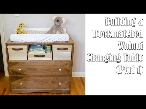 Building a Walnut Changing Table (Part 1)