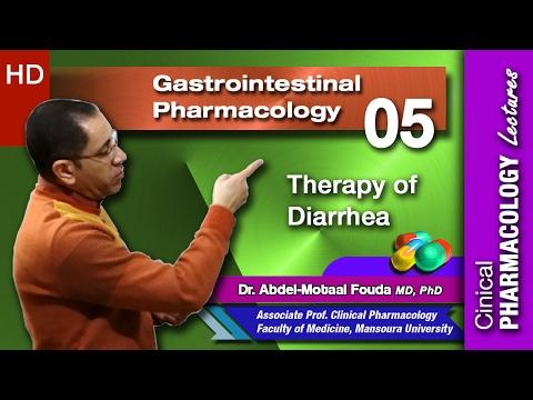 GIT Pharmacology - 05 - Therapy of Diarrhea