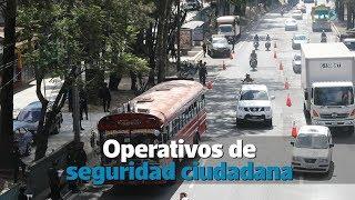PNC realizó operativos en los departamentos de Guatemala y Escuitla | Prensa Libre