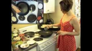 Hot In The Kitchen 05 - Vegan Mexican Meal: Enfrijoladas & Nopalitos Recipe: Bean & Cactus Leaves