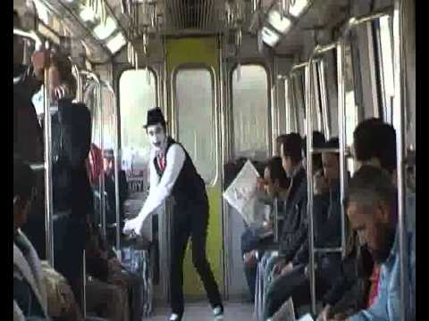 Art of Transit - Mime in the Cairo Metro (Mahatat for contemporary art)