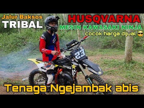 Trail ninja Bisa terbang Jalur Baksos Tribal