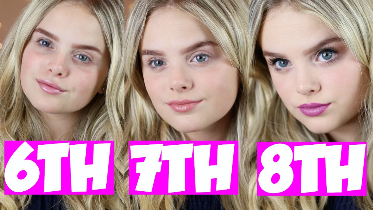 back to school makeup 6th 7th 8th grade youtube. Black Bedroom Furniture Sets. Home Design Ideas