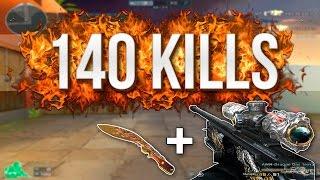 [CF] 140 KILL'S (AWM Infernal Dragon + Kukri Beast)