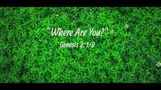 "Cedar United Methodist Church Worship - ""Where Are You?"" - 6/13/2021"