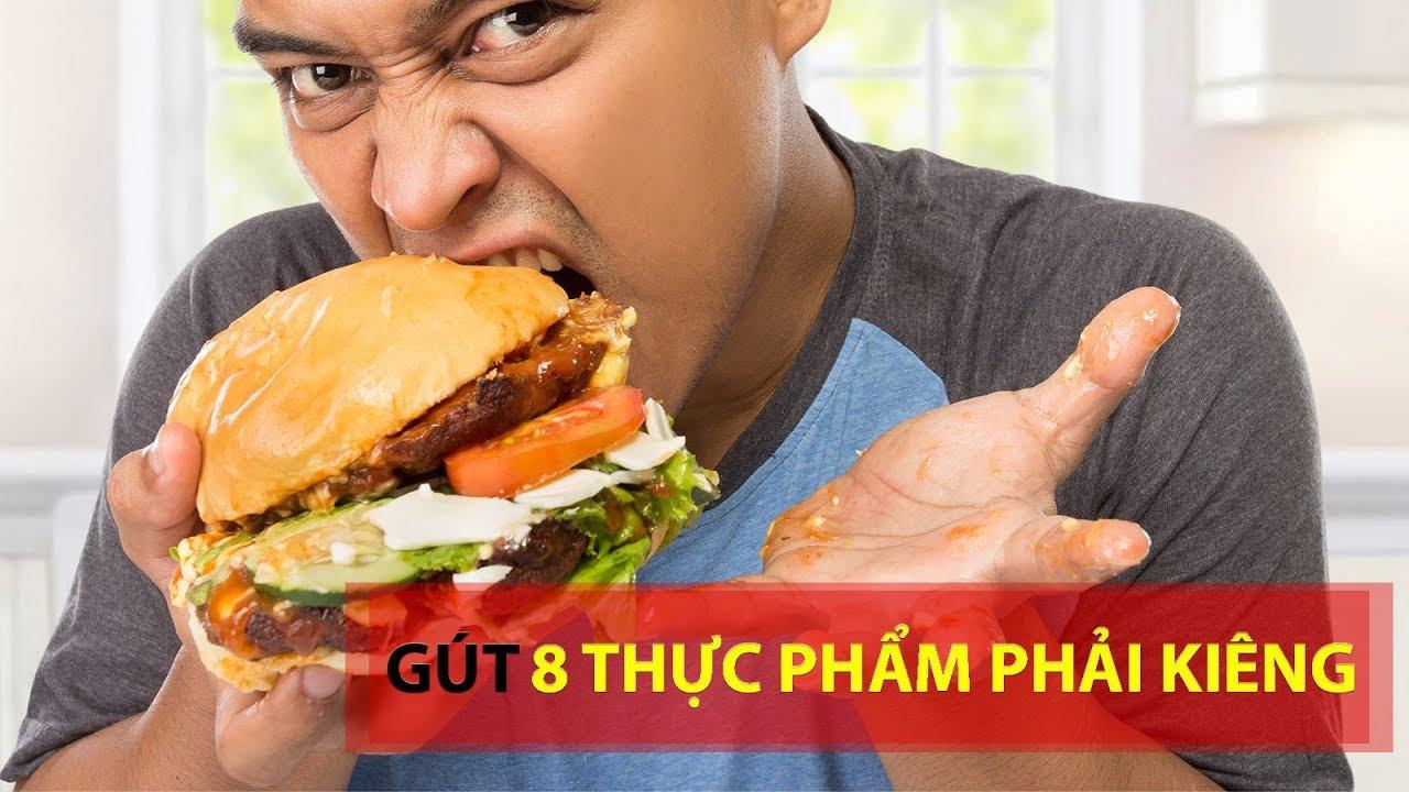 8 thực phẩm bị bệnh gút phải kiêng tuyệt đối để không bị tàn phế