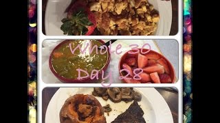 Whole 30 Day 28- Two More Days!!!