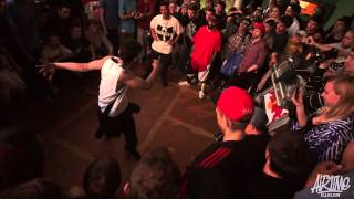 Gun (iLLusion of Exist) vs Luan (Funk Fockers) | Call Out Battle | AIRTIME 2013