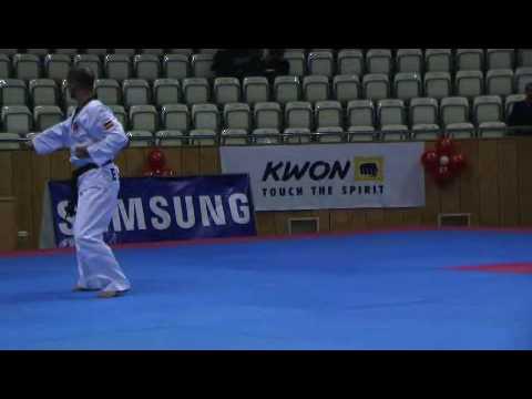 Alberto Delgado. CHUNGKWON. 3º Campeonato del Mundo Pumses - Ankara 2008.