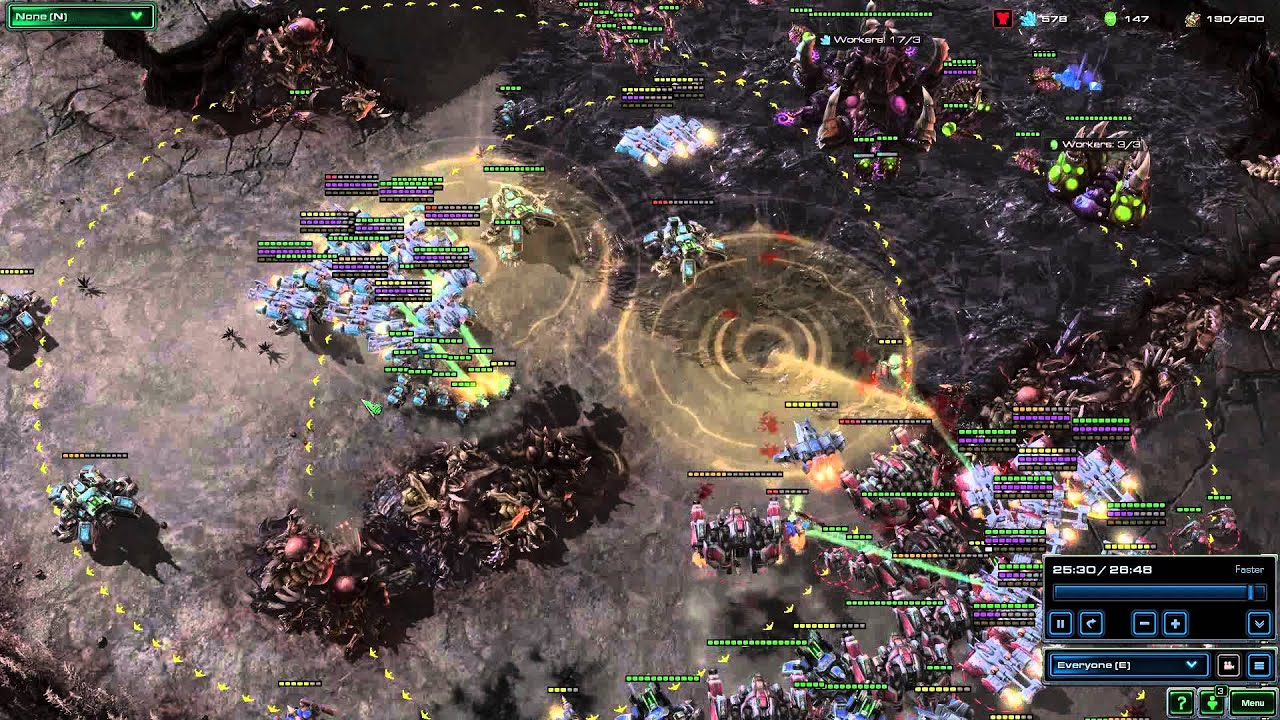 Starcraft 2  How To Zoom Out More In Replays