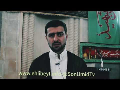 Hacı Samir (Əda və qəza nədir?) #SonUmidTv