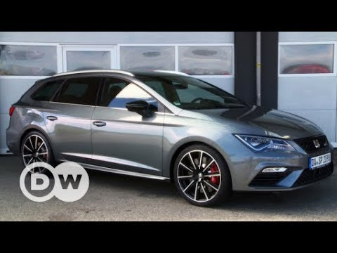powerful seat leon cupra st dw english youtube. Black Bedroom Furniture Sets. Home Design Ideas