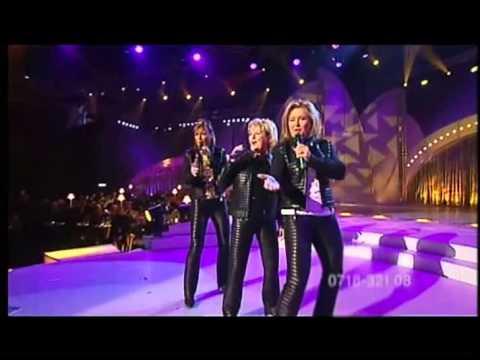 Kikki, Bettan & Lotta - Vem é dé du vill ha (Live @ Melodifestivalen 2002 Final)