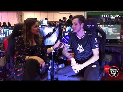 Entrevista Exclusiva Com KennyS No Lisboa Games Week | RTP Arena