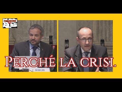Borghi / Bagnai: Perché la crisi.