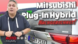 Mitsubishi Plug-In Hybrid Outlander / Test / Review / Nachgerechnet